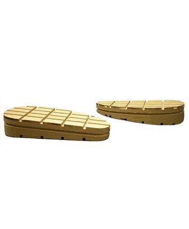 Sabot lemn Demotec, forma inclinata