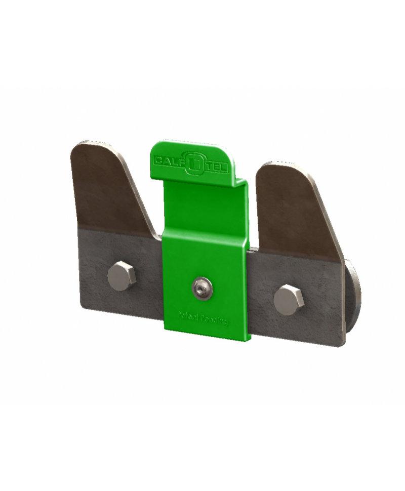 Suport metalic cu blocaj MultiLock, pentru galeata alaptare vitei cu tetina, CalfOTel