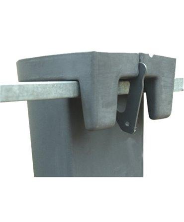 Galeata cu tetina pentru alaptarea viteilor, Milk Bar, 3l cu suport de prindere si carlig de blocare