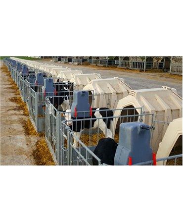 Galeata cu tetina pentru alaptarea viteilor, Milk Bar, 8l, fixare dupa alaptare