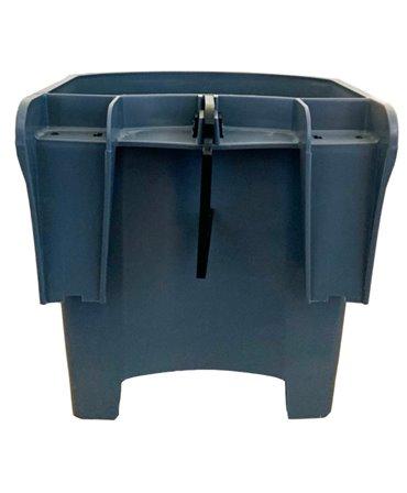 Galeata cu tetina pentru alaptarea viteilor, Milk Bar, 4l cu sistem fixare tetina, suport de prindere si carlig de blocare