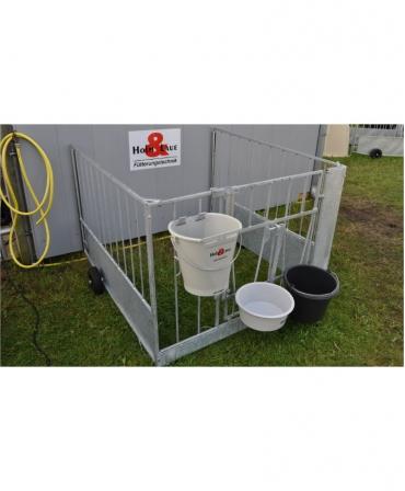 Gard metalic FlexyFence H&L pentru cuseta individuala vitei Calf-Tel ECO