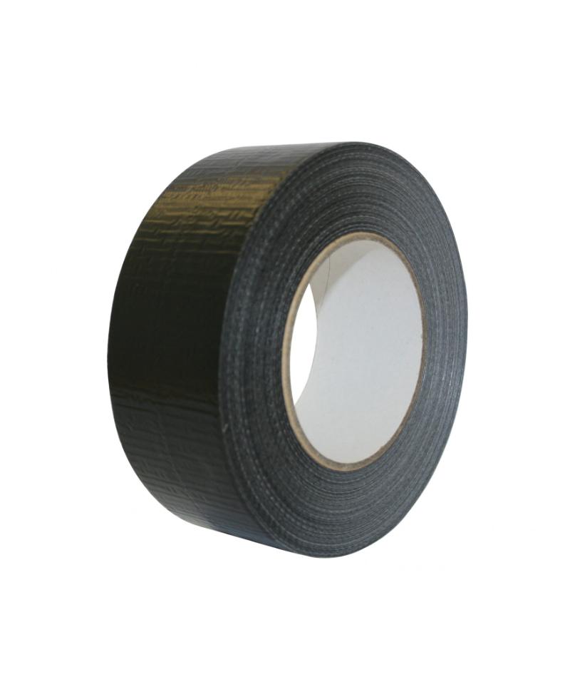 Rola banda adeziva neagra pentru protejarea bandajelor la ongloane, Allredo, 5 cm x 50 m