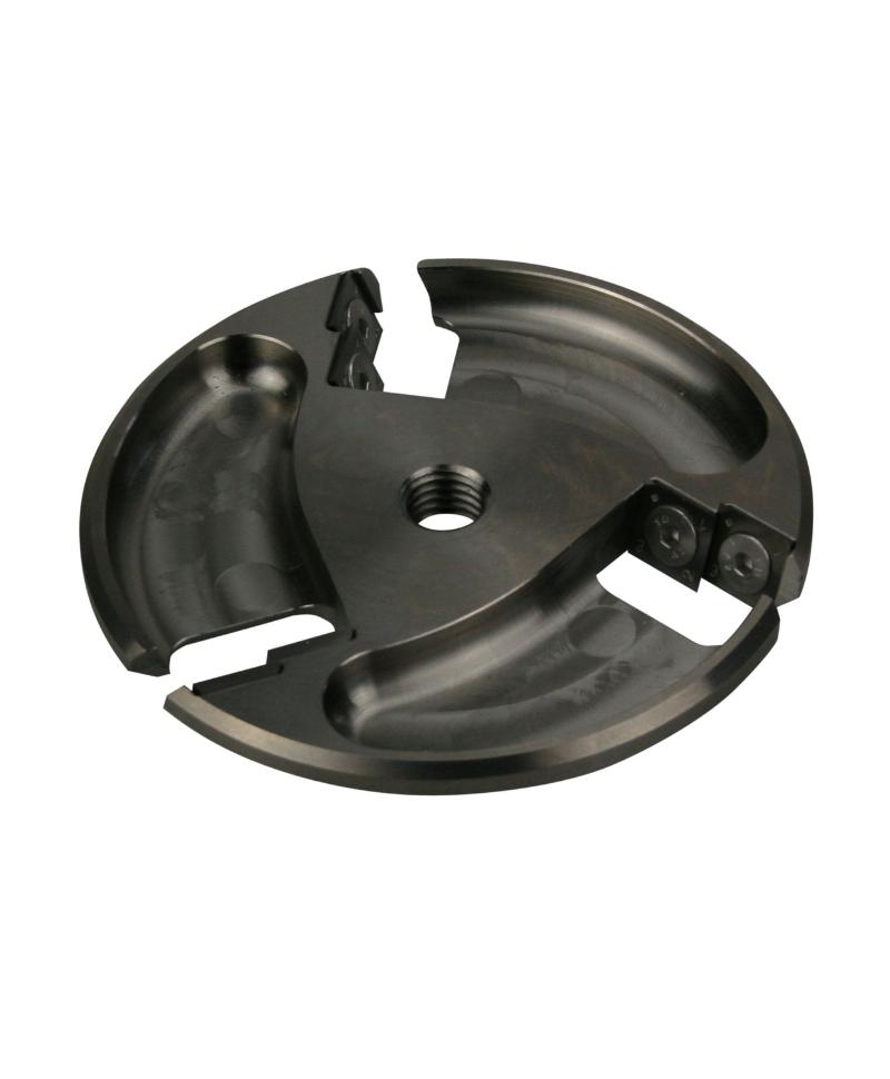 Disc trimaj ongloane Allredo ST20, cu 6 lame reversibile, aluminiu
