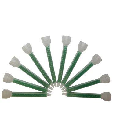 Set 10 bucati varfuri de amestec pentru adezivul de ongloane Allredo REDO-BOND 35TB, cartus 210 ml