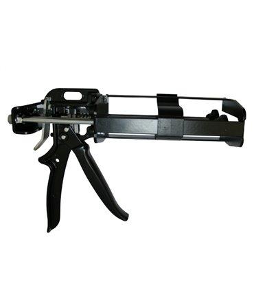 Pistol aplicare adeziv ongloane bicomponent, Allredo REDO-BOND DG200 pentru cartusele de 200 si 210 ml, dreapta