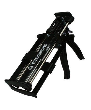 Pistol aplicare adeziv ongloane bicomponent, Allredo REDO-BOND DG200 pentru cartusele de 200 si 210 ml, unghi