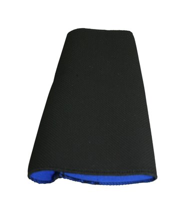 Maneca protectie incheietura din neopren, Allredo, albastra, 9cm, detaliu
