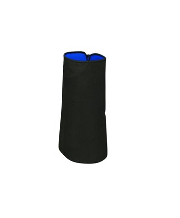 Maneca protectie incheietura din neopren, Allredo, albastra, 9cm