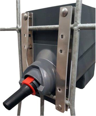 Kit complet suport pentru sistemul de alaptare vitei Milk Bar Vitality, detaliu fixare