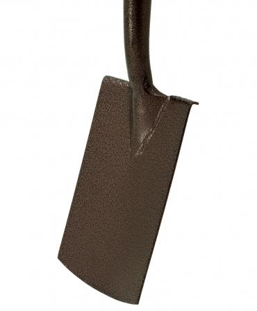 Cazma cu lama din otel, margini indoite, coada de lemn, maner Y plastic, pentru spatii inguste, Spear & Jackson Elements, lama