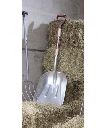 Lopata aluminiu, coada de lemn, 810 mm, maner Y plastic, Spear & Jackson, in grajd