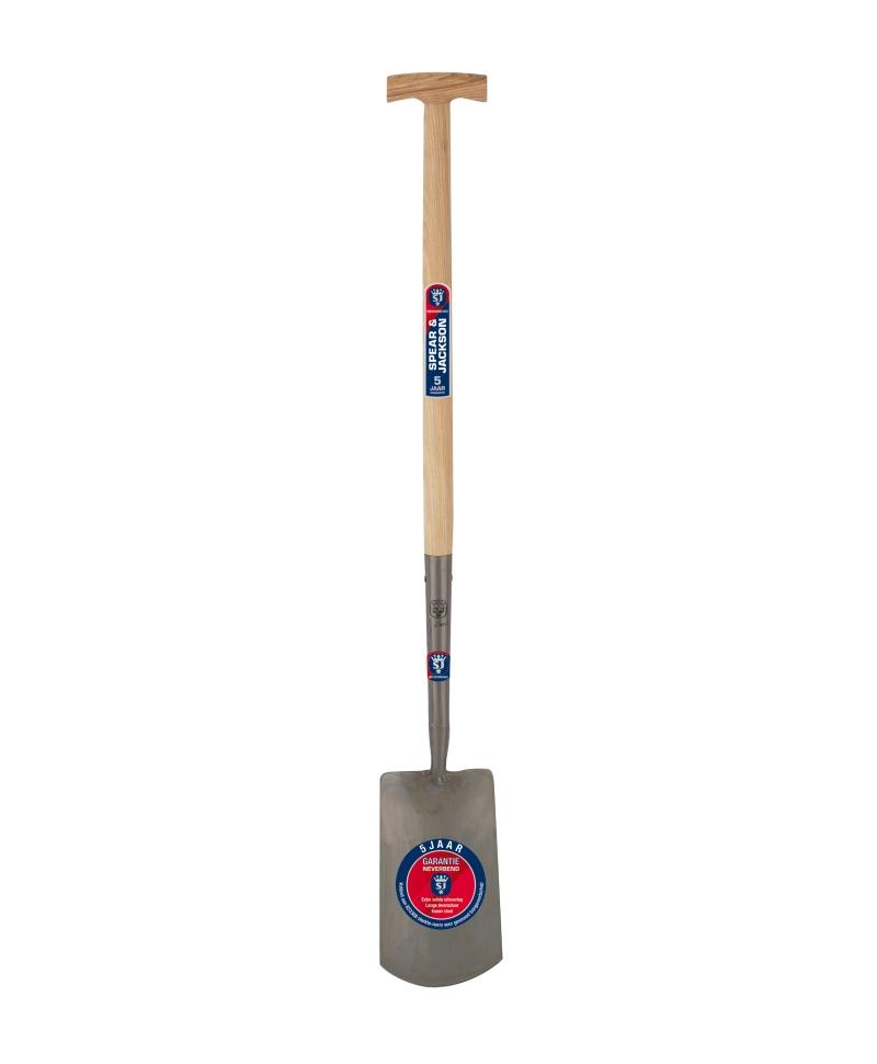 Cazma cu lama din otel, 276 x 163 mm, coada de lemn, maner T lemn, Spear & Jackson Neverbend