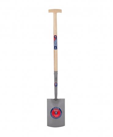 Cazma cu lama din otel, 284 x 179 mm, coada de lemn, maner T lemn, Spear & Jackson Neverbend