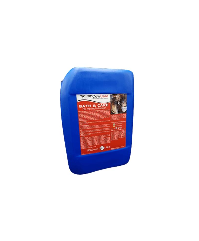 Solutie lichida pentru baile de picioare, CowCare Bath&Care, bidon 20 litri