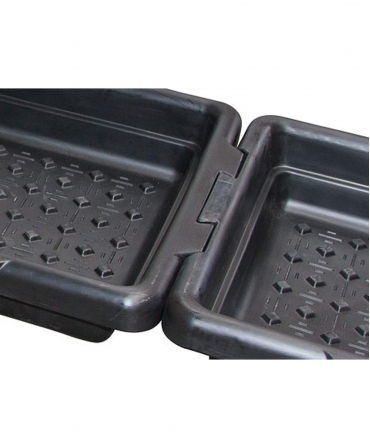Baie de picioare pentru ingrijirea ongloanelor, CowCare 200 litri, 203 x 83 x 18,5 cm, detaliu imbinare