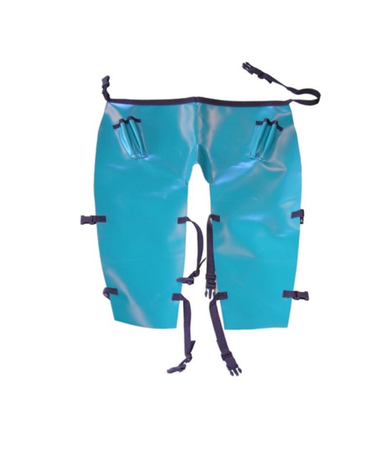 Sort PVC pentru trimaj ongloane cu suporti pentru renete, CowCare, scurt, cu picioare separate