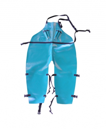 Sort PVC pentru trimaj ongloane cu suporti pentru renete, CowCare, lung, cu picioare separate