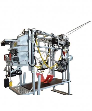 Stand trimaj ongloane vaci KVK 650-SP3, complet automatizat, din unghi