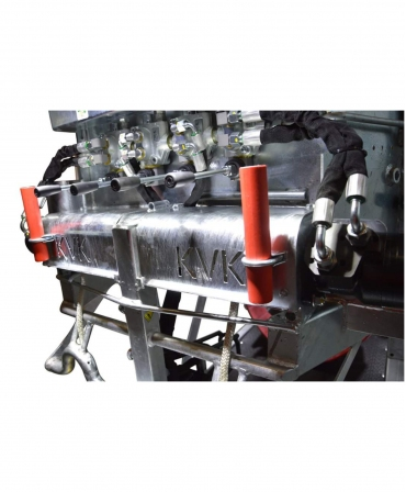 Stand trimaj ongloane vaci KVK 650-SP3, complet automatizat, inscriptionare KVK