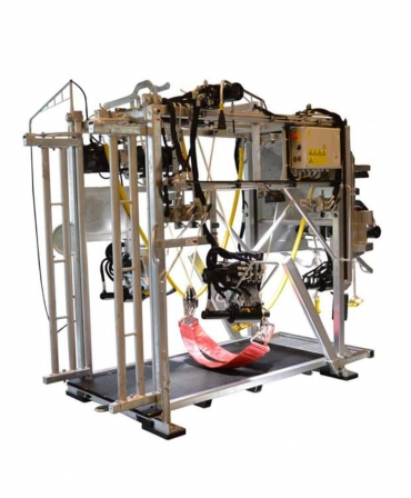 Stand trimaj ongloane vaci KVK 650-SP3, complet automatizat