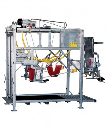 Stand trimaj ongloane vaci, model KVK 650-SP0