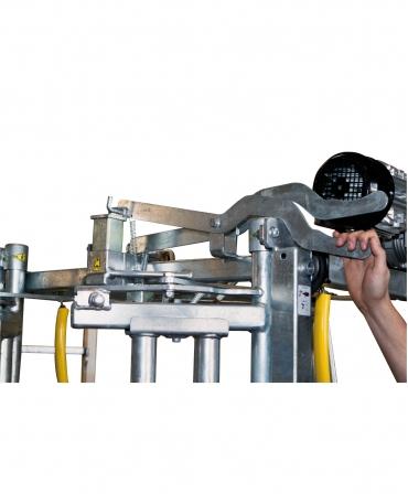 Stand trimaj ongloane vaci KVK 650-SP0, componente