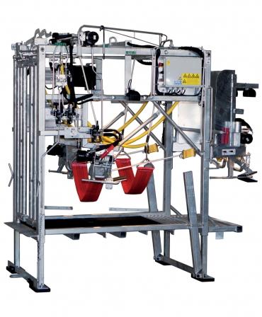 Stand trimaj ongloane vaci, model KVK 650-SP2