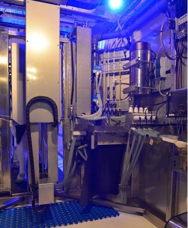 Camera tehnica Robot de muls vaci BouMatic MR-S2
