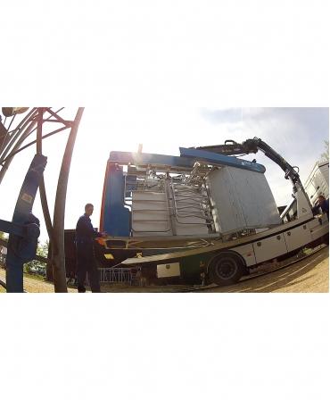 Unitate compacta BouMatic MR-S2 descarcare in ferma