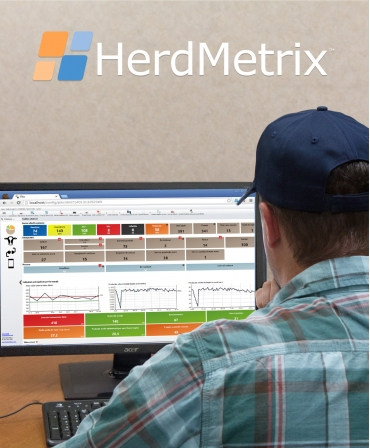 HerdMetrix, sistem computerizat management ferme vaci lapte