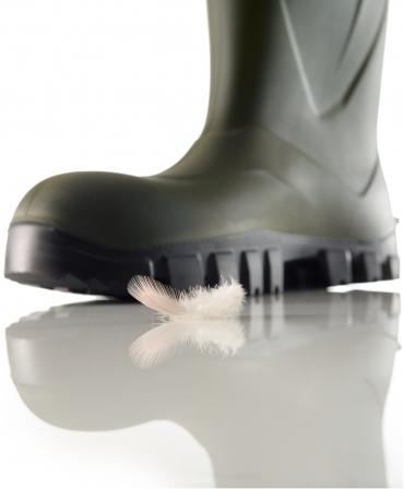 Cizme protectie Bekina StepliteX SolidGrip, S5, verde/negru, greutate
