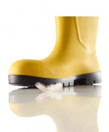 Cizme protectie Bekina Steplite EasyGrip, S5, galben/negru, ultrausoare