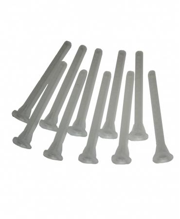 Set 10 bucati varfuri de amestec pentru adezivul de ongloane Allredo REDO-BOND 25T, 50 ml