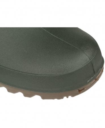 Cizme protectie Bekina Litefield, O4, verde/maro, detaliu bot cizma