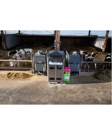 Automat alaptare vitei, Holm&Laue CalfExpert amplasat in ferma