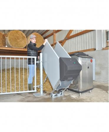Rabatare statie alaptare HygieneStation pentru automatul de alaptare Holm&Laue CalfExpert