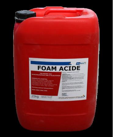 Detergent acid lichid decalcifiant Foam Acide pentru curatarea externa a suprafetelor, Bidon 25 kg