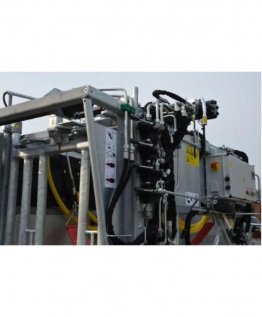 Stand trimaj ongloane vaci, model KVK 800-1, valve