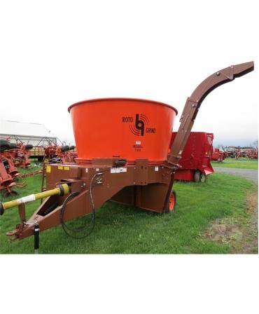 Masina de macinat universala rotativa cu cuva Roto Grind