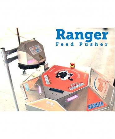 BouMatic Ranger pe alea de furaje la statia de incarcare