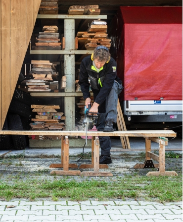Pantofi protectie Helly Hansen Aker Low, S3, negri, in timpul lucrului