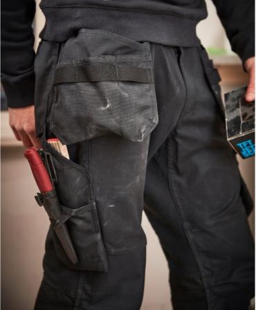 Pantaloni de lucru Helly Hansen Oxford Construction, imbracati, detalii buzunare