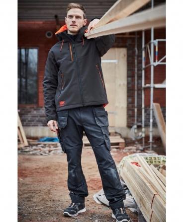 Pantaloni de lucru Helly Hansen Oxford Construction, imbracati, fata