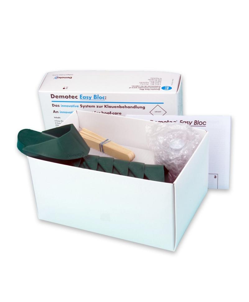Kit tratament ongloane Demotec Easy BLOC