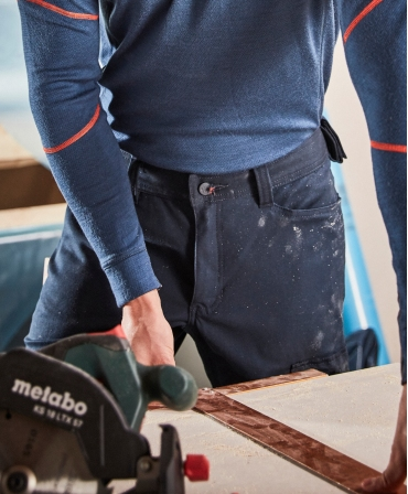 Pantaloni de lucru Helly Hansen Oxford Work, imbracati, detalii talie