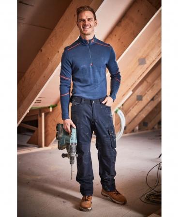 Pantaloni de lucru Helly Hansen Oxford Work, imbracati, fata