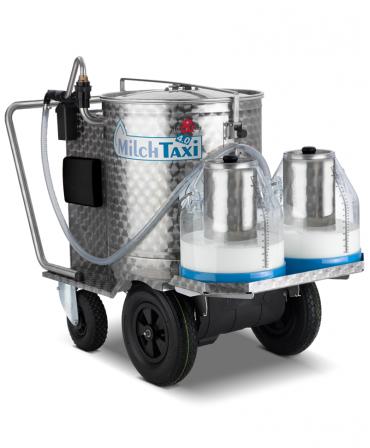 Milk Taxi pentru hranirea inteligenta a viteilor