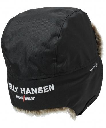 Caciula imblanita Helly Hansen Boden, neagra, spate