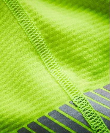 Bluza Helly Hansen Lifa Active Half Zip, reflectorizanta, HVC2, 3, galbena, material